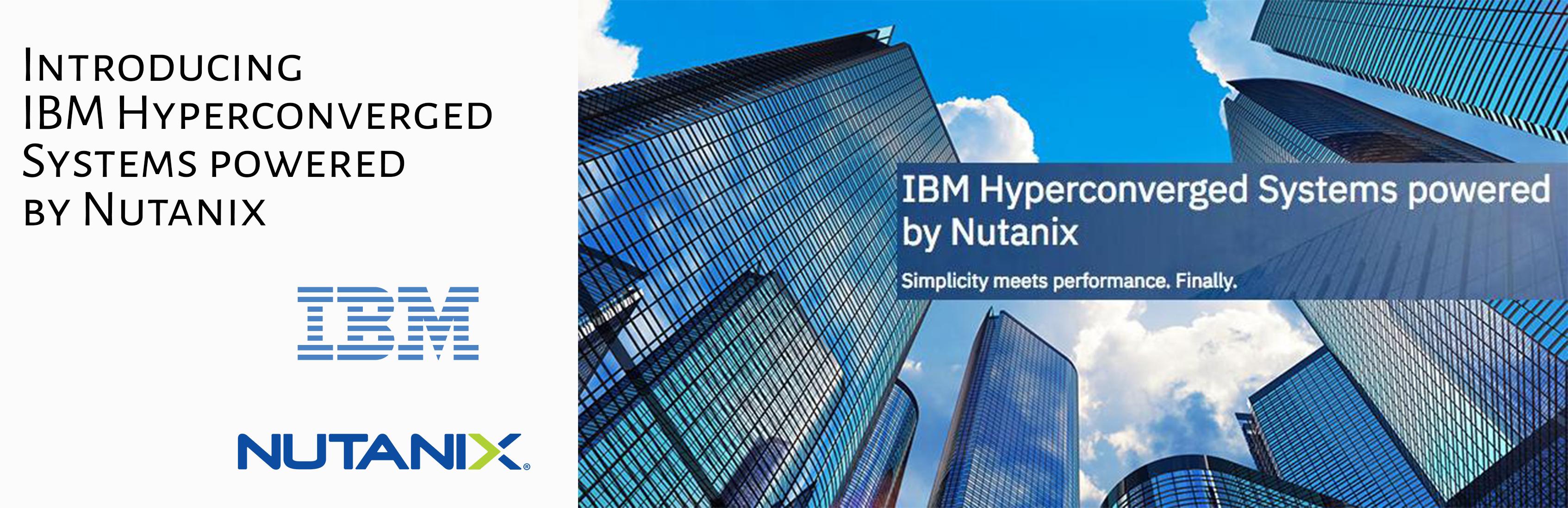 IBM Nutanix Hyperconverged