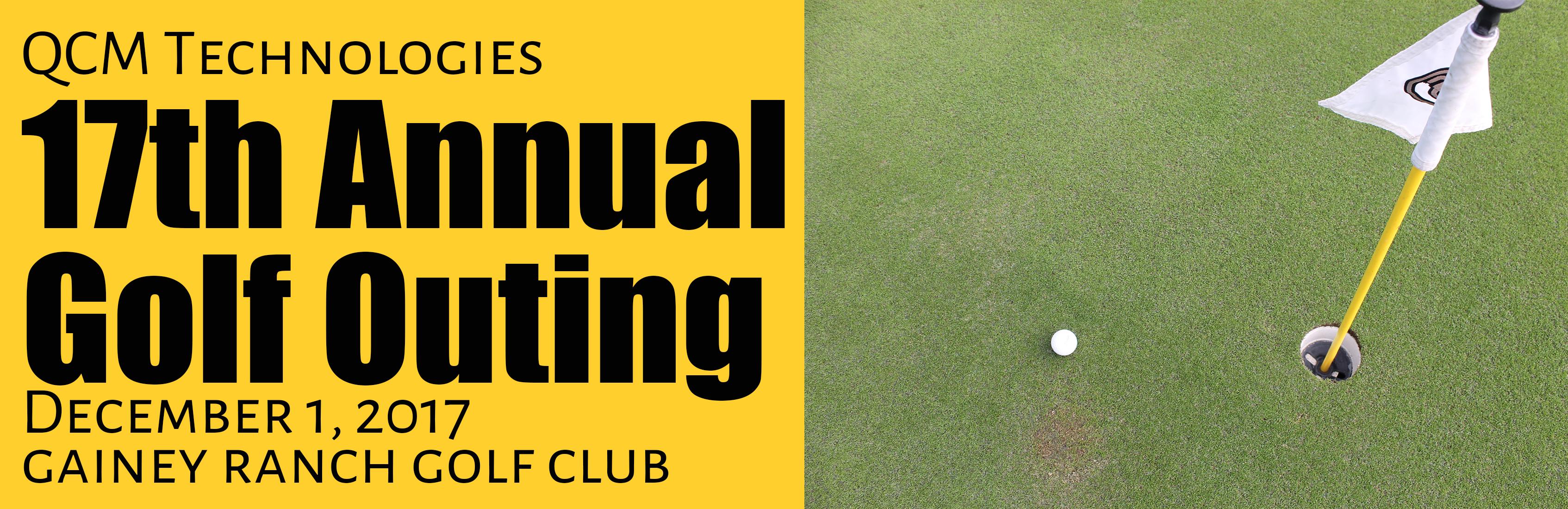 QCM Technologies 17th Annual Golf Outing