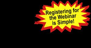 QCM Man - Registering for the Webinar is easy