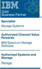 LOGO_QCM-IBM Gold Business Partner Spectrum Storage, Storage Specialist